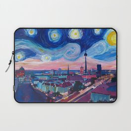 Starry Night in Berlin - Van Gogh Inspirations in Germany with Skyline Laptop Sleeve
