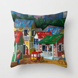 Santurce Throw Pillow