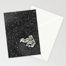 ALONE AT NIGHT Stationery Cards