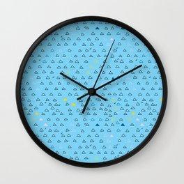 Triangle Hour Wall Clock