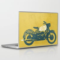 grease Laptop & iPad Skins featuring streets by The Junkers