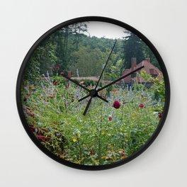 Garden House Wall Clock