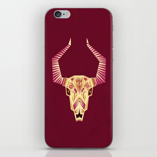 Sugar Bull iPhone & iPod Skin