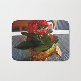 Apulian flower (3) Bath Mat
