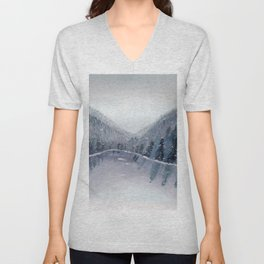 A Figment of my Winter Imagination Unisex V-Neck