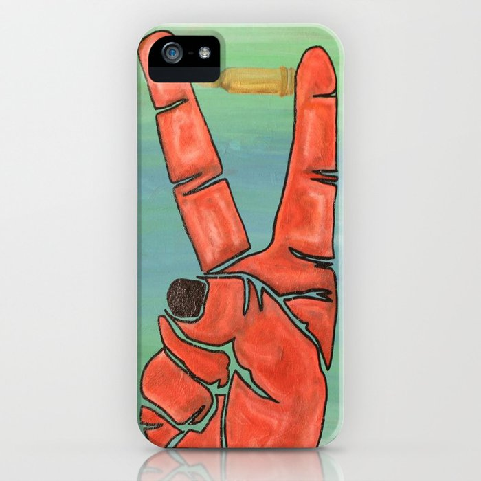Peace Bullet  iPhone Case