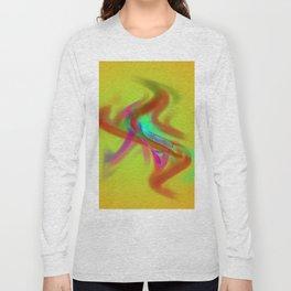 el placa de colore Long Sleeve T-shirt