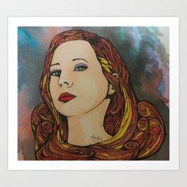 The Katie Long Art Print