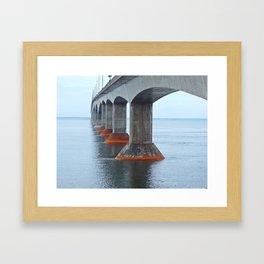 Under the Bridge in PEI Framed Art Print