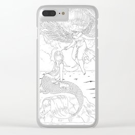 First meeting Clear iPhone Case