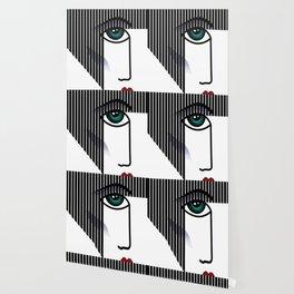 Woman's Profile Wallpaper