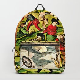Cannibalism in Russia and Lithuania 1571 Backpack
