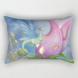 Dragonfly Time Rectangular Pillow