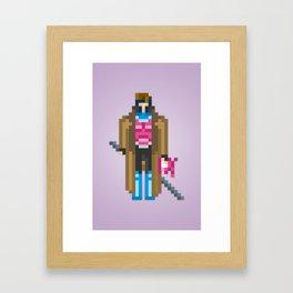 PixelWorld vol. 1   Gambit Framed Art Print
