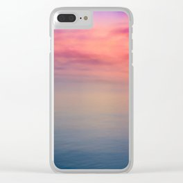 Morning Love - Colors of the Sea Clear iPhone Case