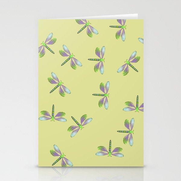 Dragonfly Frenzy Stationery Cards