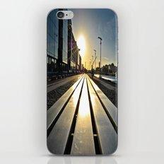 Sunset Bench iPhone & iPod Skin