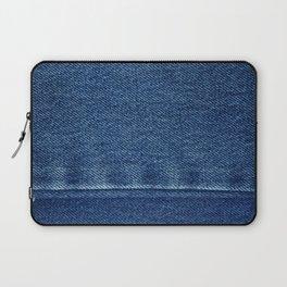 Blue Jean Texture V4 Laptop Sleeve