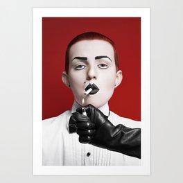 gentlewoman (for a gentleman?) Art Print