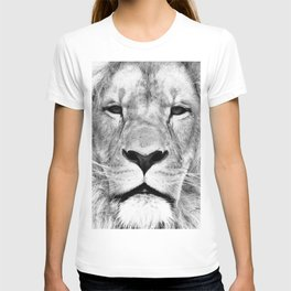 Lion, Animal, Scandinavian, Minimal, Trendy decor, Interior, Wall art Art T-shirt