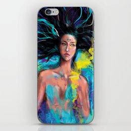 Blue world iPhone Skin