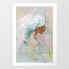 Portrait of a memory Art Print