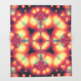 Variable Humbug Throw Blanket