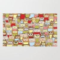 bears Area & Throw Rugs featuring bears! by Asja Boros
