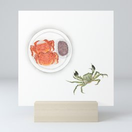 Hairy Crab | 大闸蟹 Mini Art Print