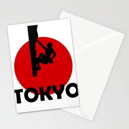 Climbing LOVE in Tokyo Stationery Cards