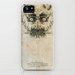 Skulloid I iPhone Case