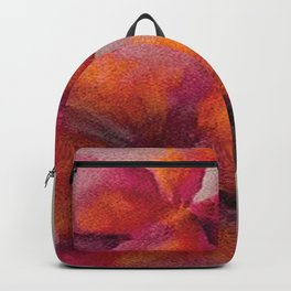 Flowers left by the way Backpack