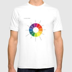 A Visual Study of Sherlock Mens Fitted Tee White MEDIUM