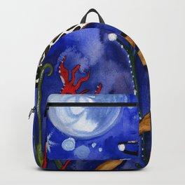 Silver Moon Berries Backpack