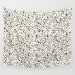 Ghibli Love Wall Tapestry