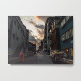 Place to Go Metal Print
