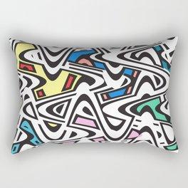 Trippy Pop Urban Rectangular Pillow