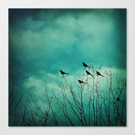 Like Birds on Trees Canvas Print