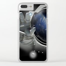 The solitary nostalgic emotion - come back home! Clear iPhone Case