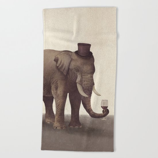 A Fine Vintage  Beach Towel
