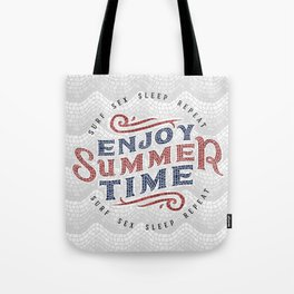Enjoy Summer Time Tote Bag