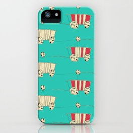 wozy_turq iPhone Case