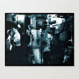 Screen Test from the CineManArt series Canvas Print