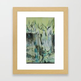 Dream about Iceland Framed Art Print