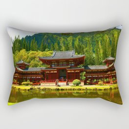 Temple Valley Temple ... By LadyShalene Rectangular Pillow