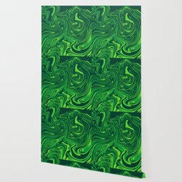 Green emerald abstract marble Wallpaper