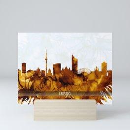 Leipzig Germany Skyline Mini Art Print