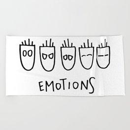 Emotions Beach Towel