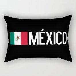 Mexican Flag & México Rectangular Pillow