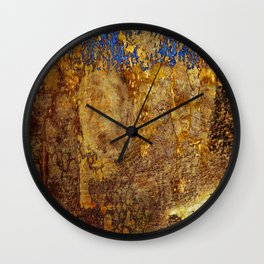 The Gold suite #3 Wall Clock